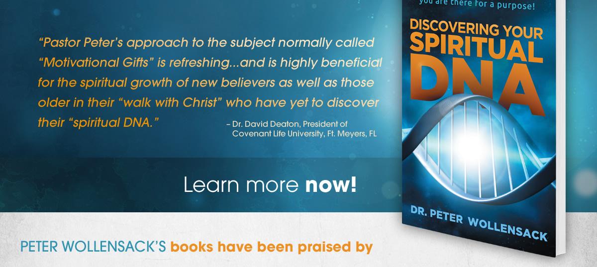 Discover Your Spiritual DNA - Christian Book